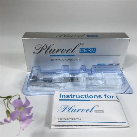PLURVEL  DERM 1 ml - Kwas hialuronowy usieciowany 3D