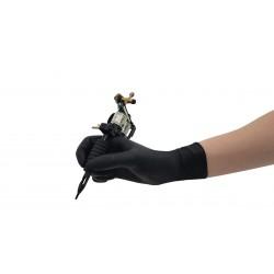 Rękawice nitrylowe bezpudrowe, czarne